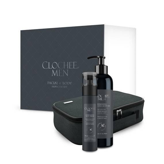 MEN Facial & body skin care set